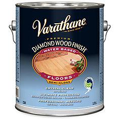 Varathane Diamond Wood Finish - Floor (Water, Semi-Gloss ...
