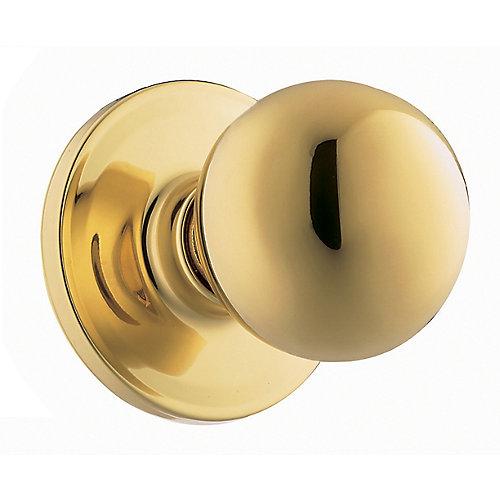 Yukon Bright Brass Dummy Knob