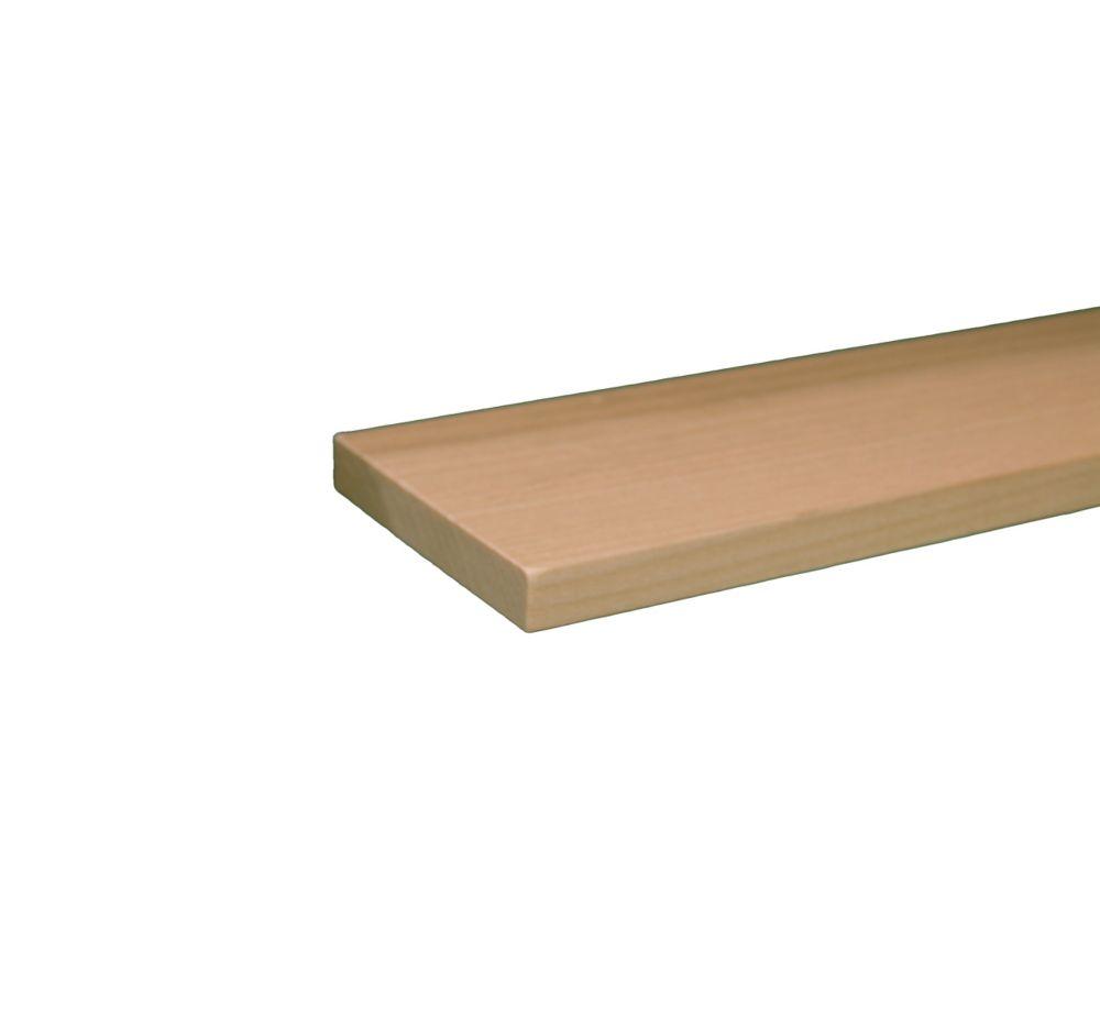 Poplar Hobby Board 1/4  x 2  x 3 Feet