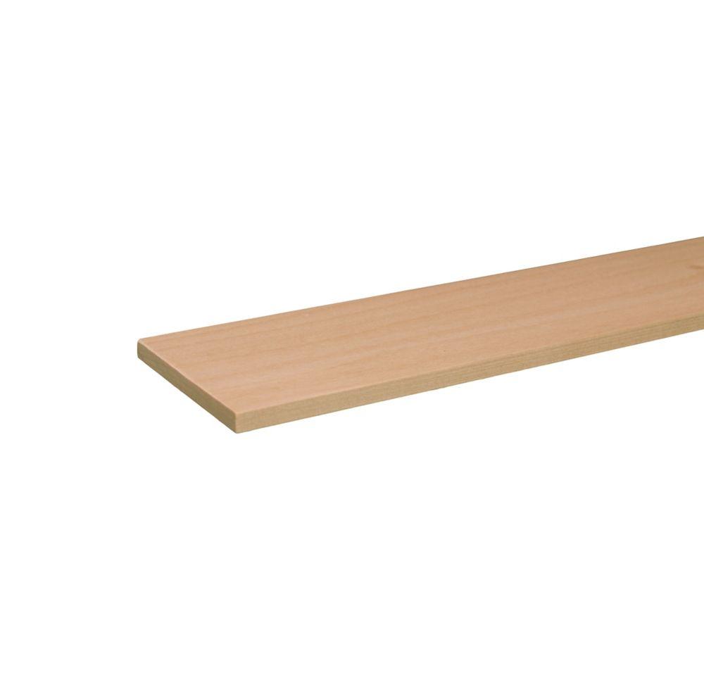 Poplar Hobby Board 1/4 x 3 x 3 Feet