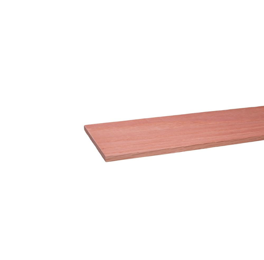 Alexandria Moulding Oak Hobby Board S4S 1/4 x 4 x 3  Feet