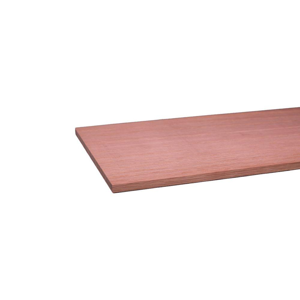 Oak Hobby Board S4S 1/4 x 6 x 3 Feet