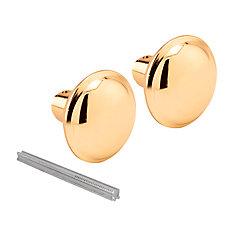 Brass Door Knob Set with Spindle