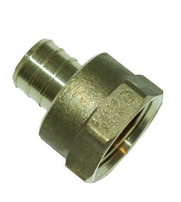3/4 Inch Barb X 3/4 Inch Female Pipe Thread Non Swivel Adapter