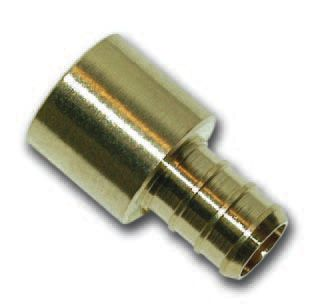 1/2 Inch Female Sweat X 1/2 Inch Barb Adapter Coupling