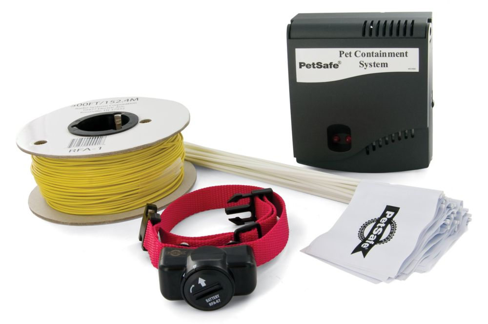 In-ground Radio Fence Pet Containment System