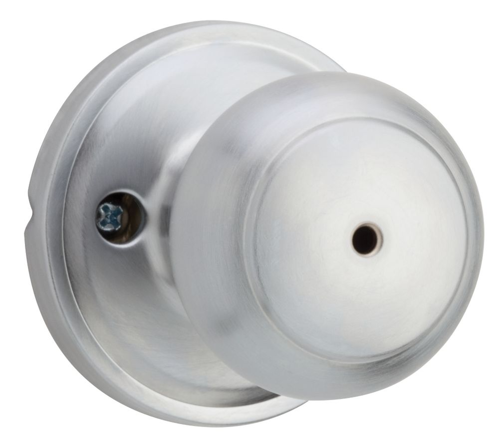 Troy Satin Chrome Privacy Knob