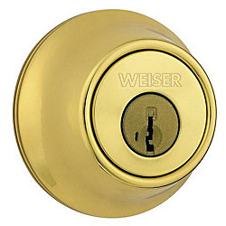 Weiser Elements Satin Nickel Deadbolt The Home Depot Canada