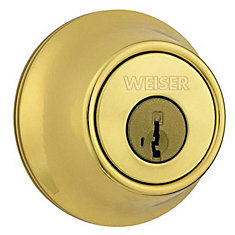 Brass Single Cylinder Deadbolt