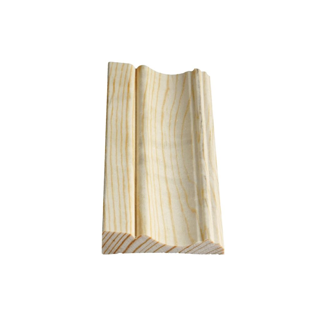 Solid Clear Pine Colonial Casing 11/16 In. x 3-1/8 In. x 7 Ft.