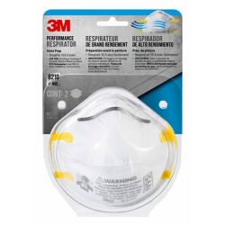 3M Sanding and fibreglass Insulation Respirator (2-Pack)
