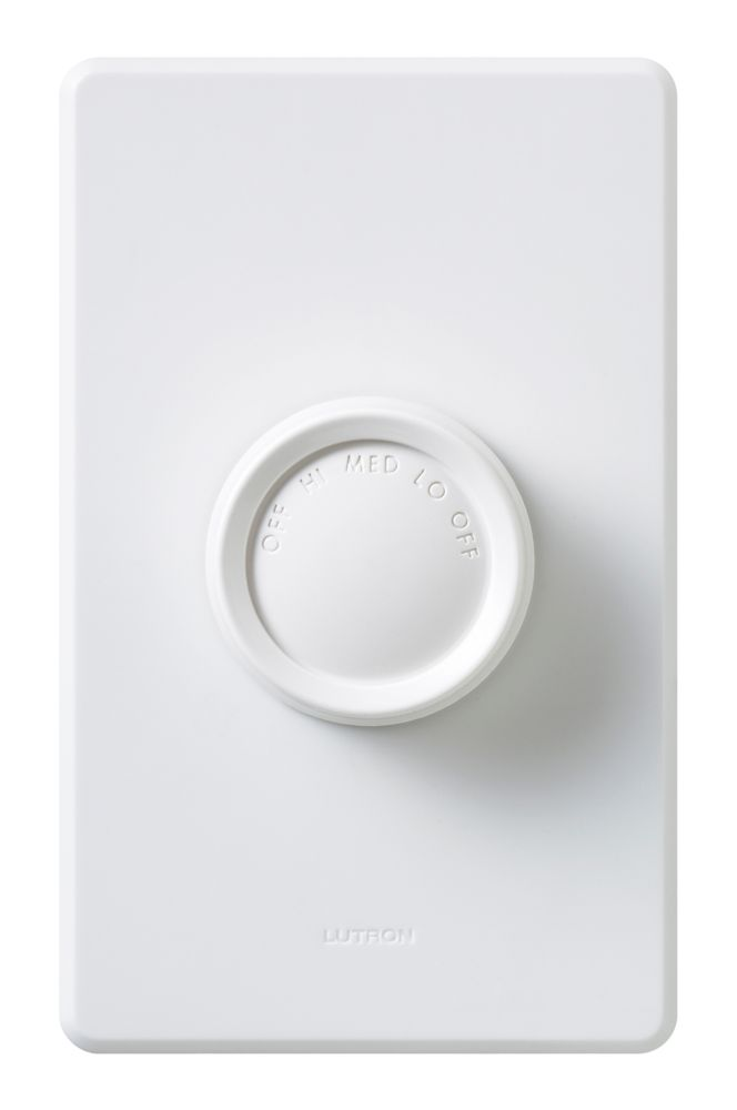 Lutron ceiling fans accessories the home depot canada rotary onoff fan control mozeypictures Images