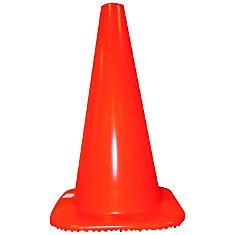 Traffic Cone 18 inches 3Lb Base Q