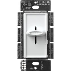 Lutron Skylark Quiet Three Speed Fan Control in White