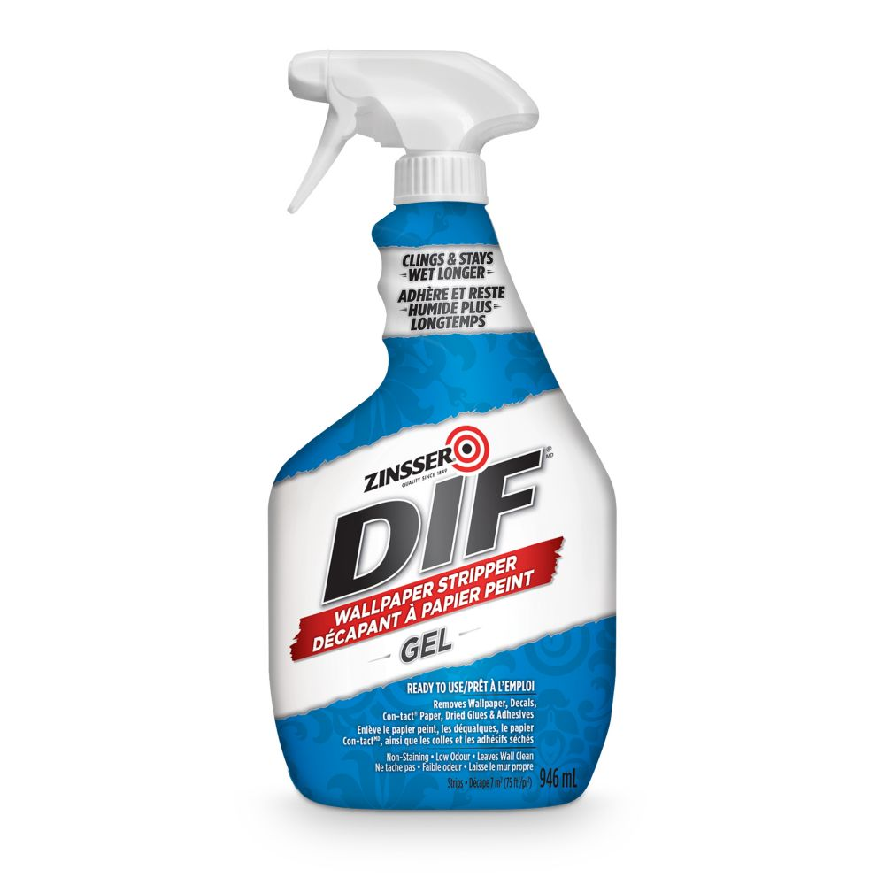 Zinsser Dif Wallpaper Stripper Spray Gel 6 3ml The Home
