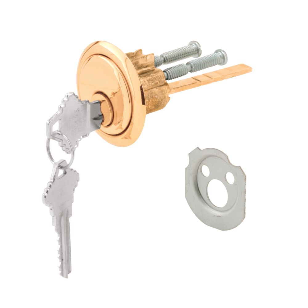 prime line replacement keyed cylinder lock the home depot canada. Black Bedroom Furniture Sets. Home Design Ideas