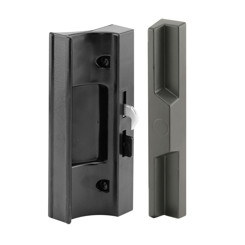 Prime line sliding glass door handle block the home for Home depot sliding glass door lock
