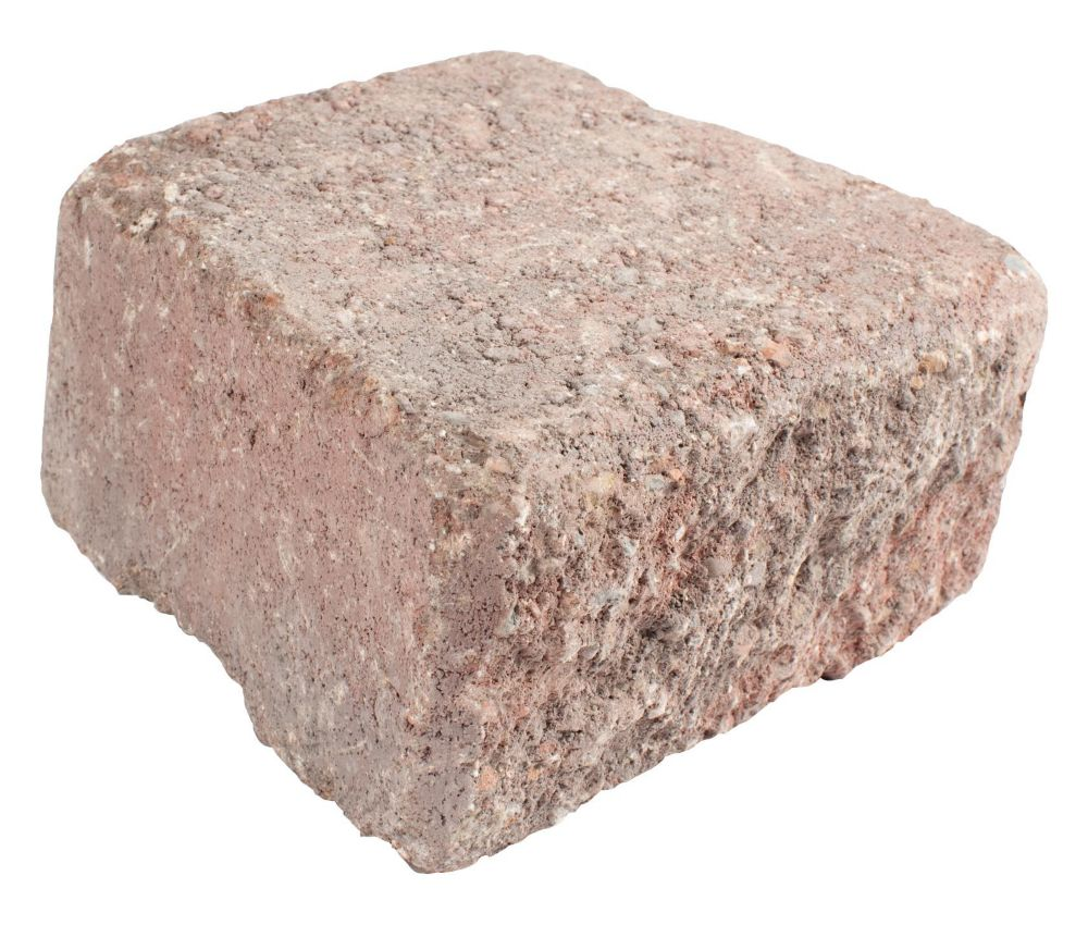 Antique Wedgestone - Red/Charcoal Capstone