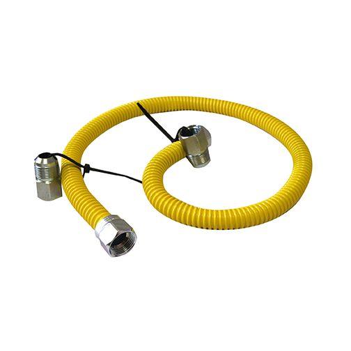 Connecteur pour conduite à gaz