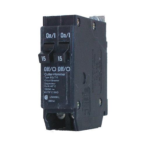 Bolt-On Duplex/Quad Replacement Breaker - 2-1P 15A