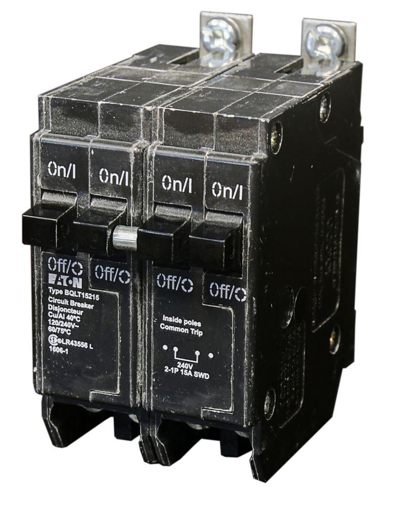 Bolt-On Duplex/Quad Replacement Breaker - 2-1P & 1-2P 15A