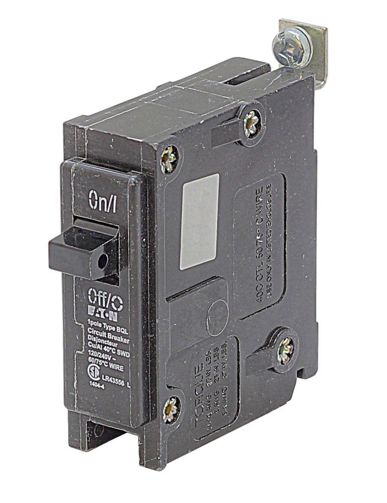 Disjoncteur de remplacement avec fixation à boulon  - 1P 15A