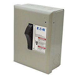 Eaton Cutler-Hammer 30-Amp Double Plug Type Safety Switch
