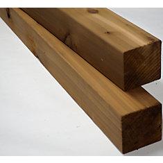 4x4x12' Appearance Cedar S4S Post