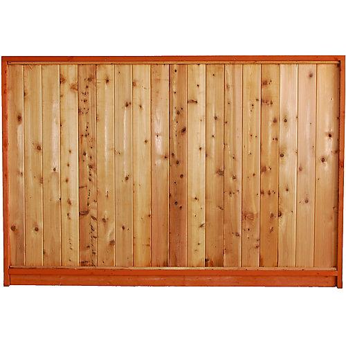 65 7/16 X 8 PREM. Solid Fence Panel