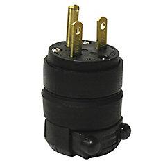 15 Amp Rubber Ground Plug, 250V