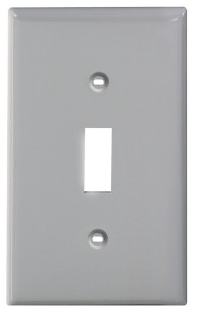1-Gang Nylon Switch Plate Gray 80701-778 in Canada
