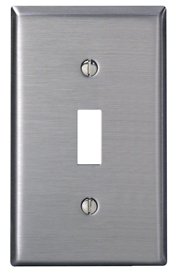 1-Gang Switch Plate Type 430ss