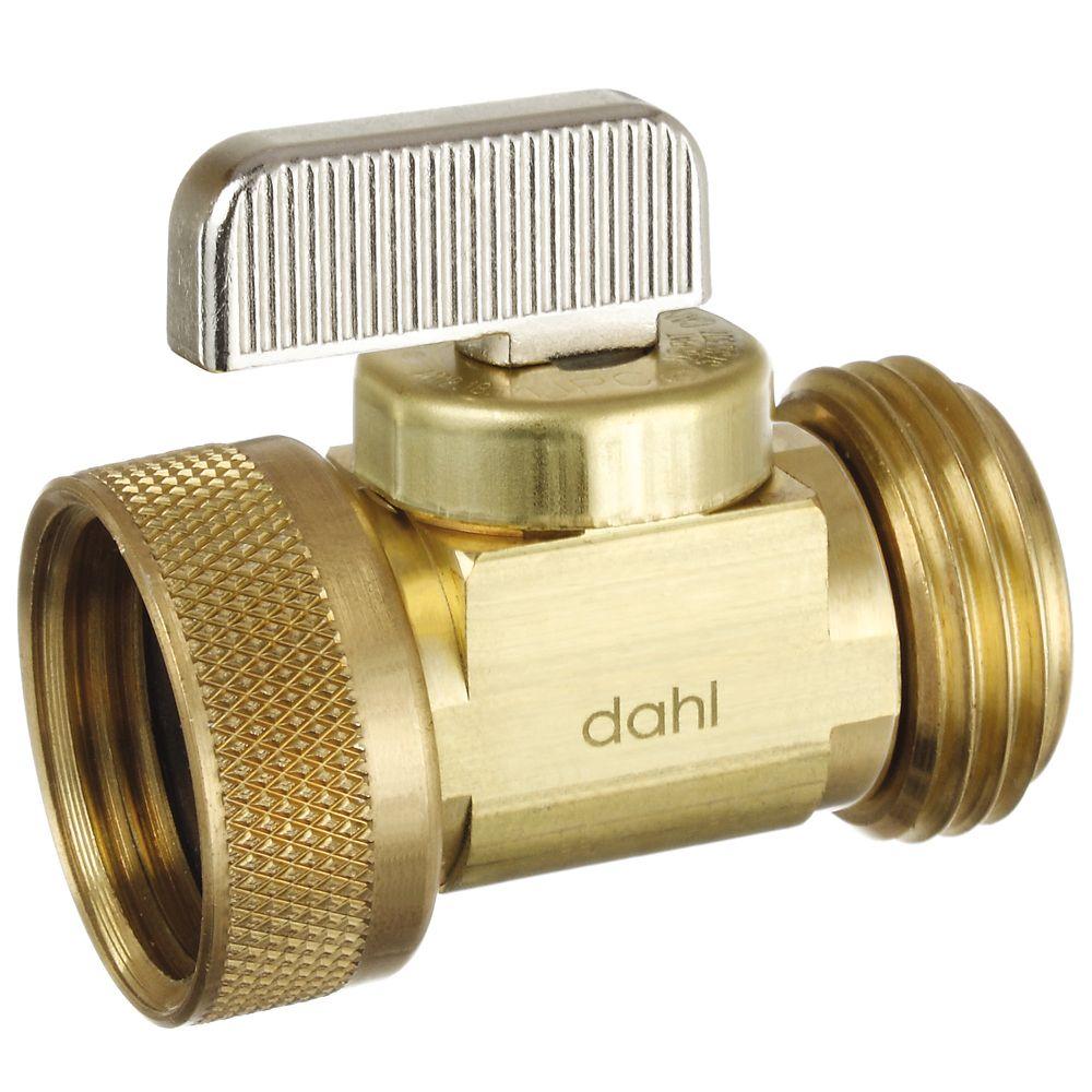 Dahl Hose x Female Swivel Hose, Straight, Brass