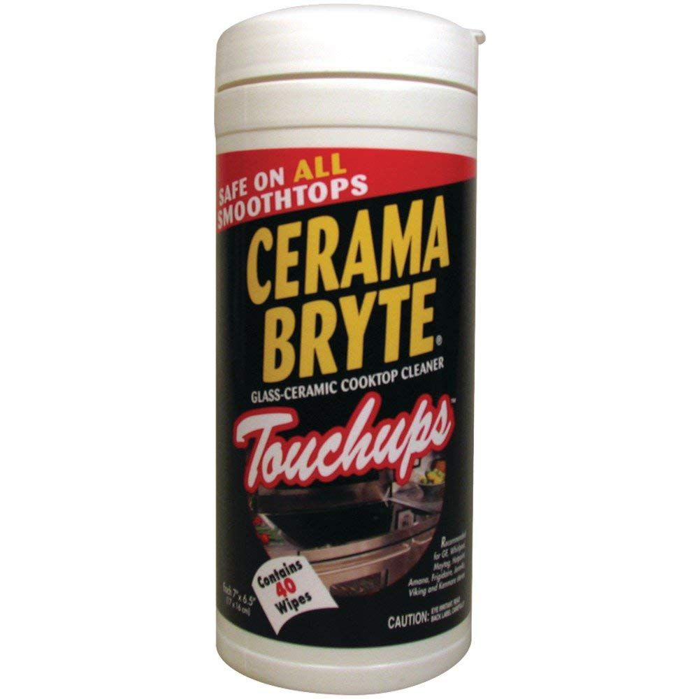 Cerama Bryte 23635 Cooktop Touch-up Wipes, 40-ct