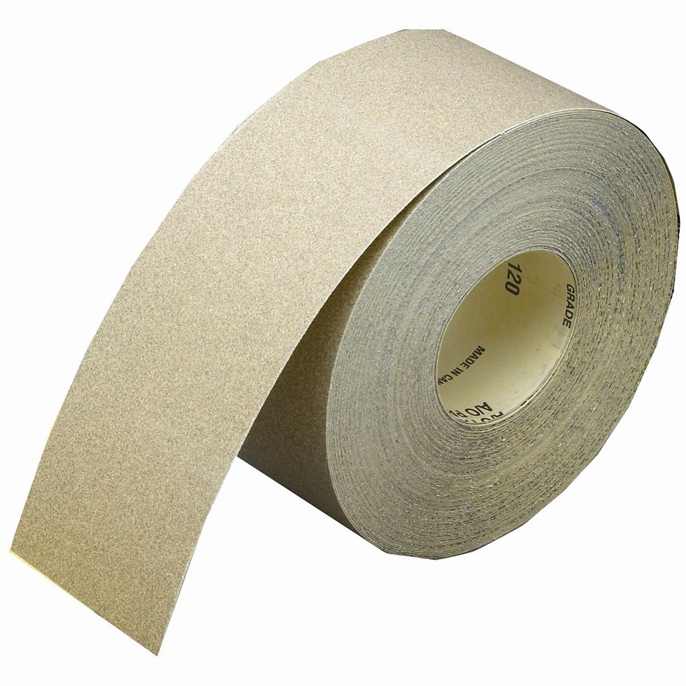Aluminum Oxide Drywall Sanding Roll  120 grit 3-1/2 inch x50 yds