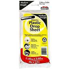 Medium Weight Plastic Drop Sheet