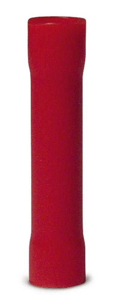 Gardner Bender Butt Splice 22-16 AWG Vinyl Insulated Red 100/Clam