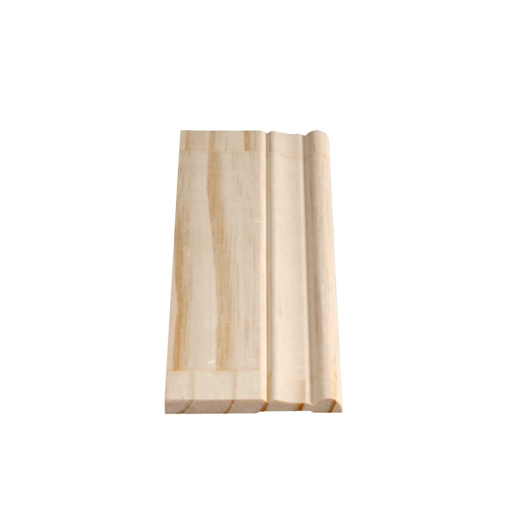 Finger Jointed Pine Colonial Base 5/16 In. x 2-7/8 In. (Price per linear foot)