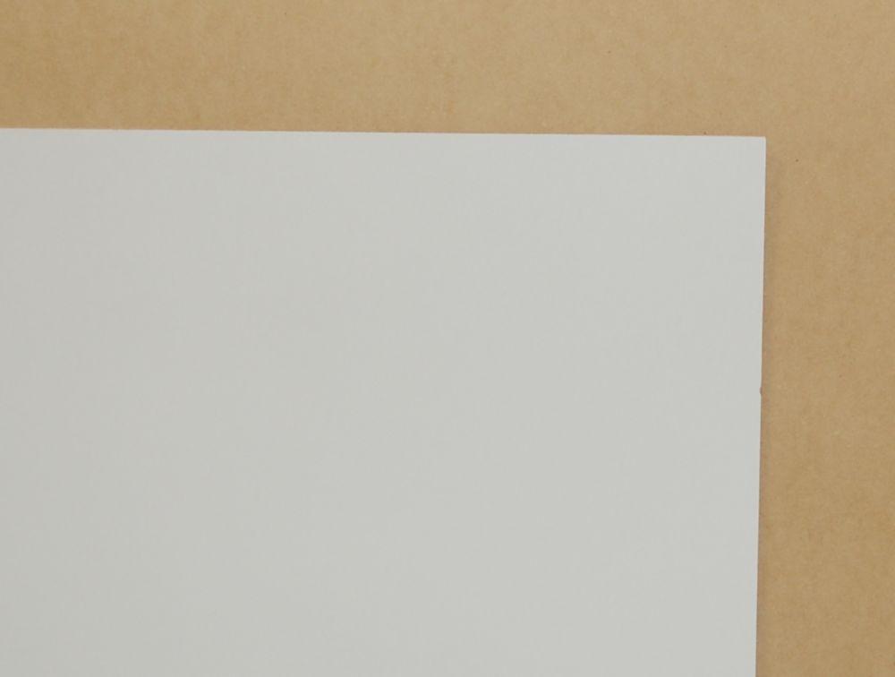 1/4 Inch  2 Feet x 4 Feet White Hardboard Handy Panel
