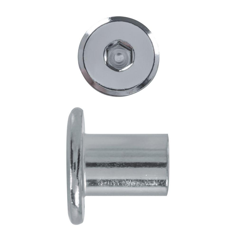 1/4-20X14Mm Connector Cap Nut Nickel