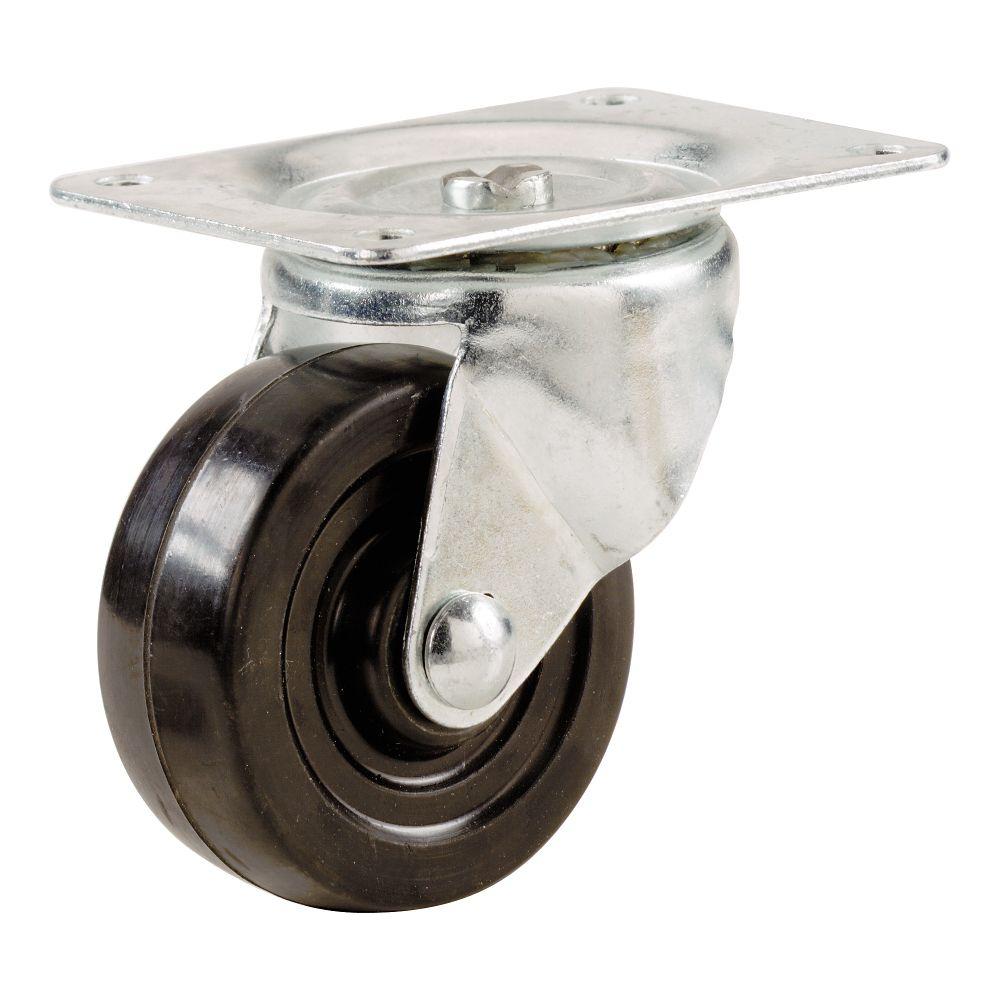 5 Inch  Rubber Wheel Swivel