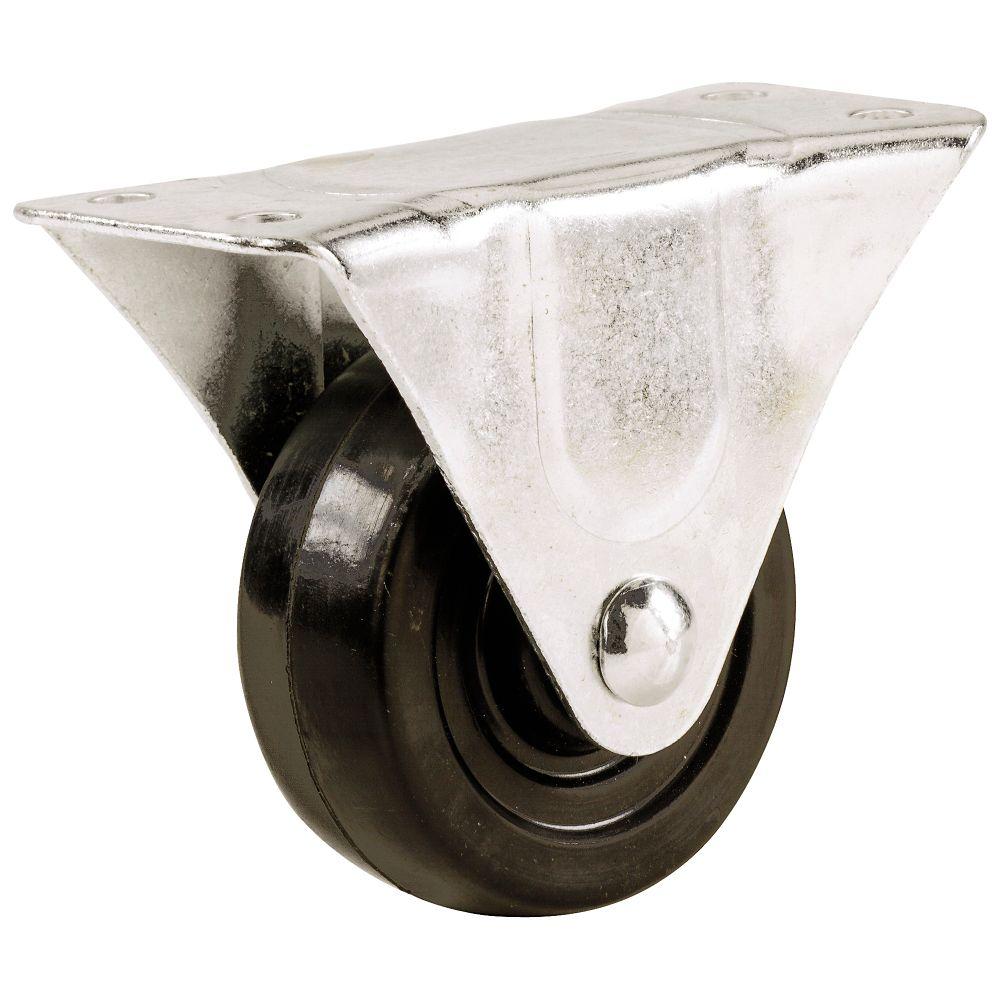 5 Inch  Rubber Wheel Rigid