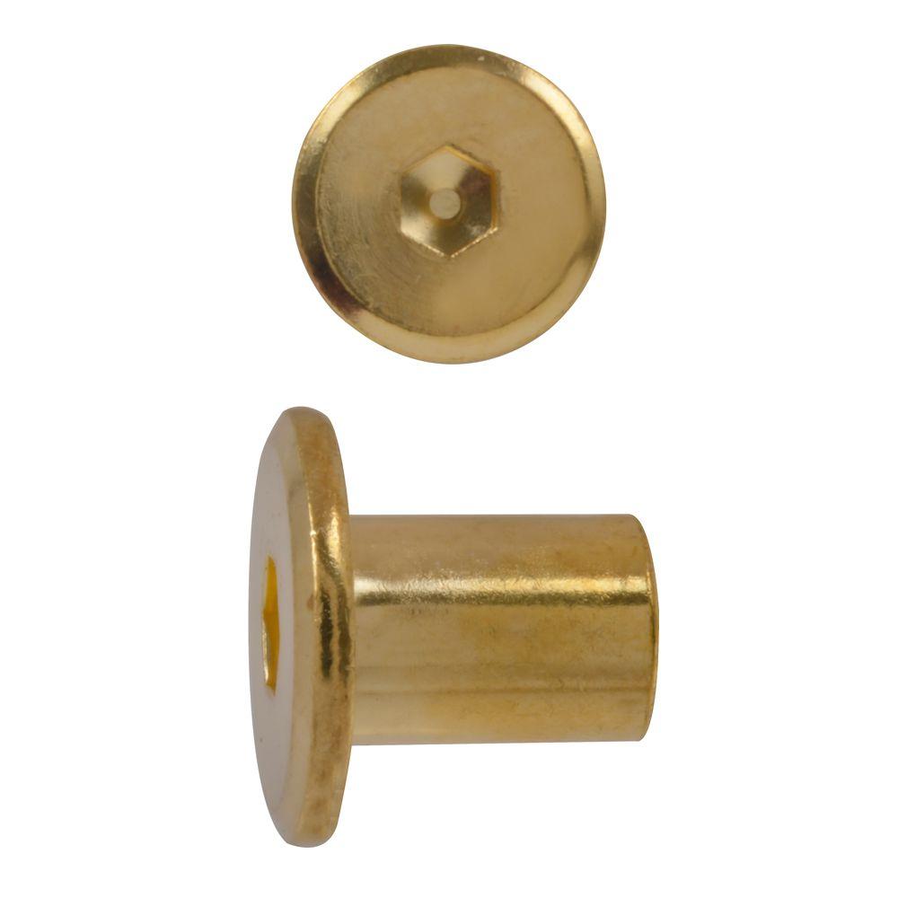 1/4-20x14mm douille de raccord plaque laiton
