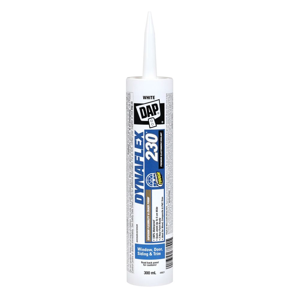 300 ml White Dynaflex 230 Prem. Elastomeric Latex Sealant