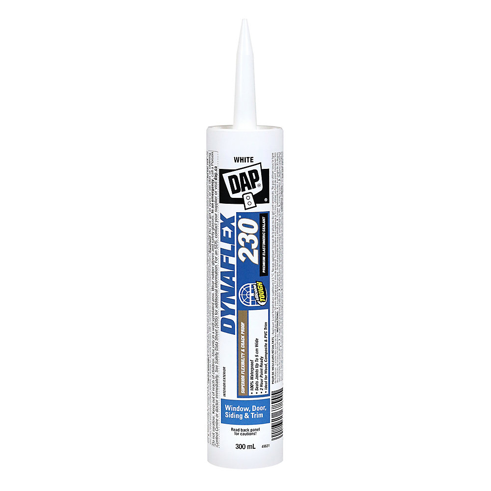 DYNAFLEX 230 Premium Indoor/Outdoor White Sealant 300 ml