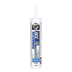 DAP DYNAFLEX 230 Premium Indoor/Outdoor White Sealant 300 ml