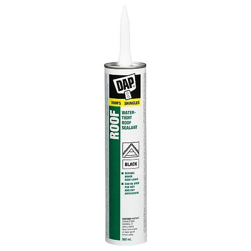 DAP Watertight Roof Sealant  Black - 300 ml