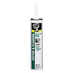 DAP Butyl-Flex Gutter and Flashing Sealant - White - 300 ml