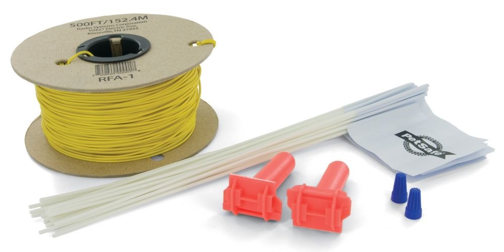 Wire and Flag Kit For Adding On To Petsafe In-ground Radio Fence Pet Containment System