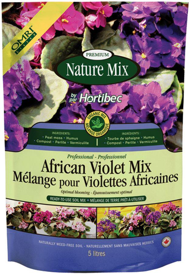 Nature Mix African Violet Mix - 5 Litre